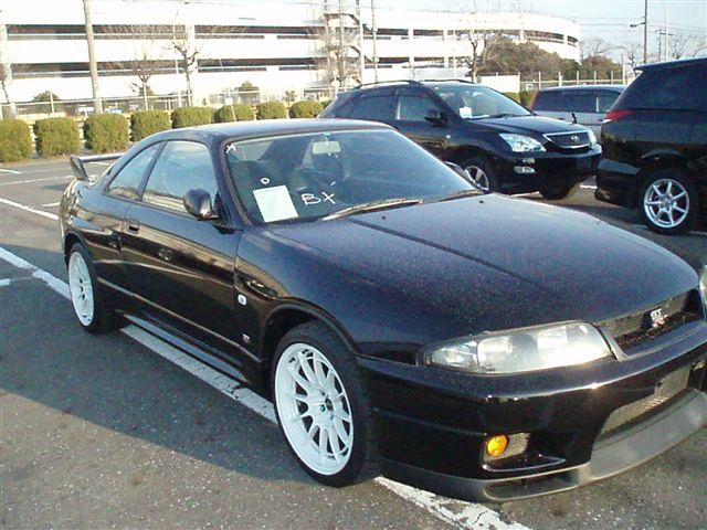 1995 Nissan Skyline R33 Gtr 5 Speed Manual Rare Black