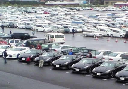 Inside a Japanese Used Car Auction | Japanese Nostalgic Car