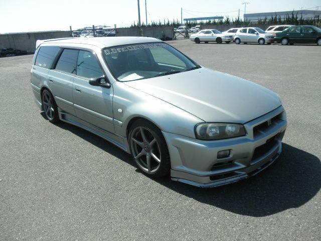 1998 Nissan Stagea Rs Triptronic Masa R34 Conversion