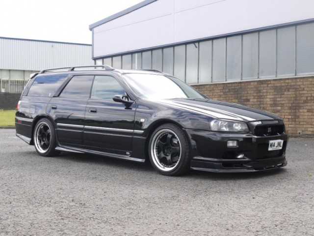 1997 Nissan Stagea Dayz Rs Four V R34 Masa Conversion 260ps