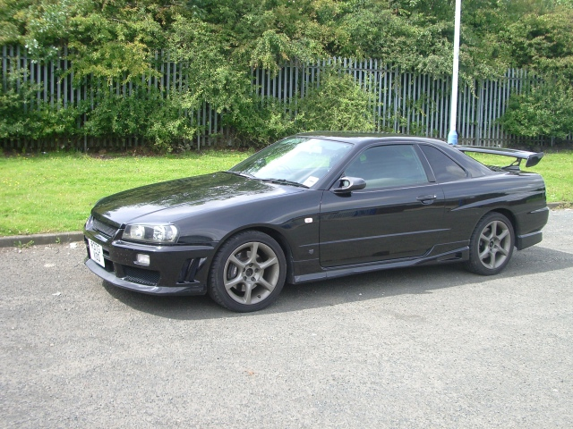 1998 Nissan Skyline R34 GT-T