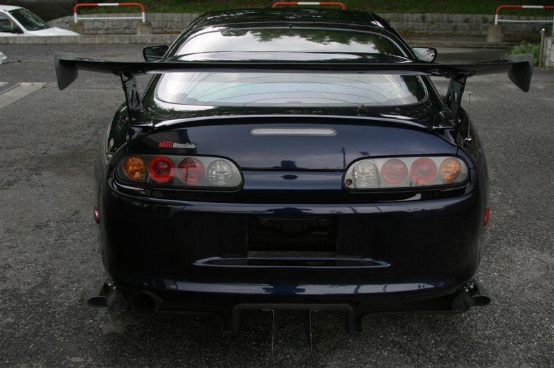on Toyota Supra Fuel Filter