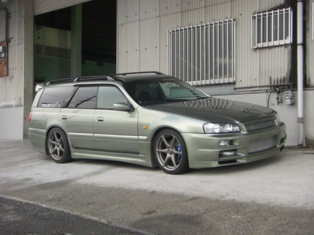1996 Nissan Stagea Rs Four V R34 Conversion 5 Speed Manual