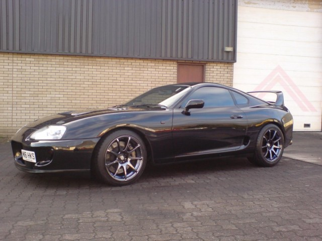 1995 toyota supra single turbo t67dbb 6 speed manual 550 bhp. Black Bedroom Furniture Sets. Home Design Ideas