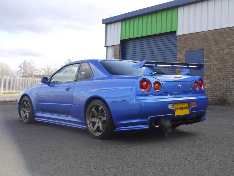 1999 nissan skyline r34 gtr v spec 6 speed manual 390bhp rh jm imports co uk Toyota Supra Nissan Skyline GTR R33