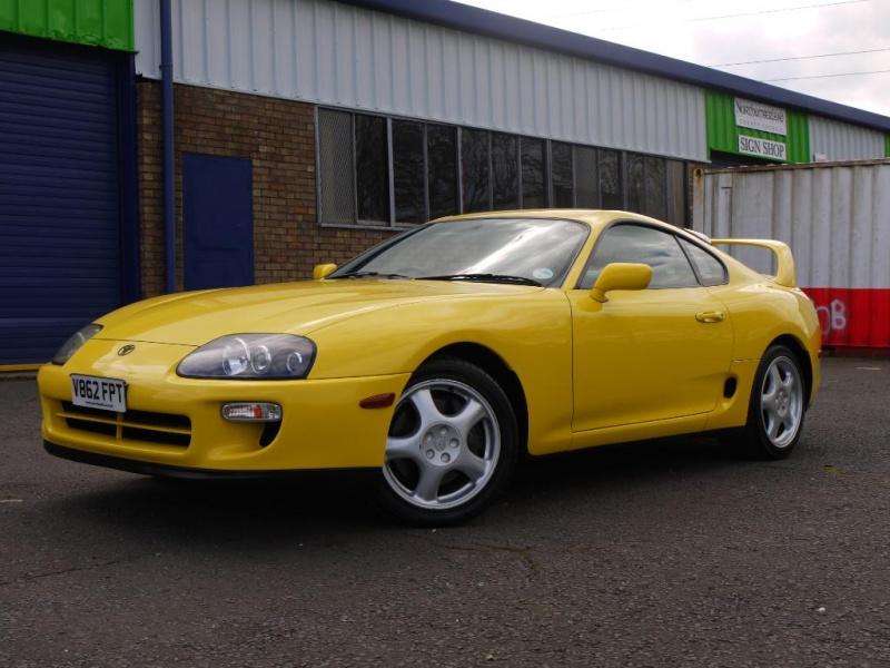 1999 Toyota Supra Rz Vvti 6 Speed Manual Factory Rare Yellow