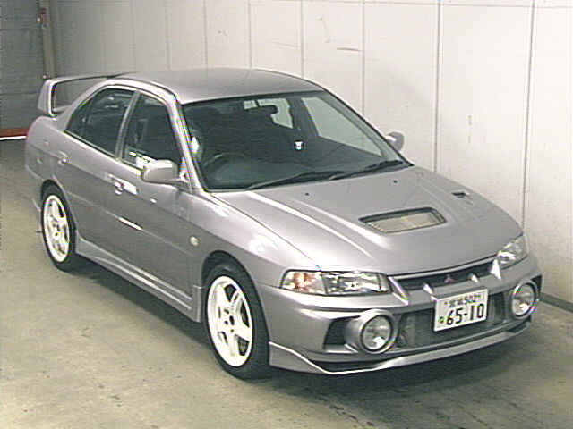 1996 Mitsubishi Evo IV 5 Speed Manual