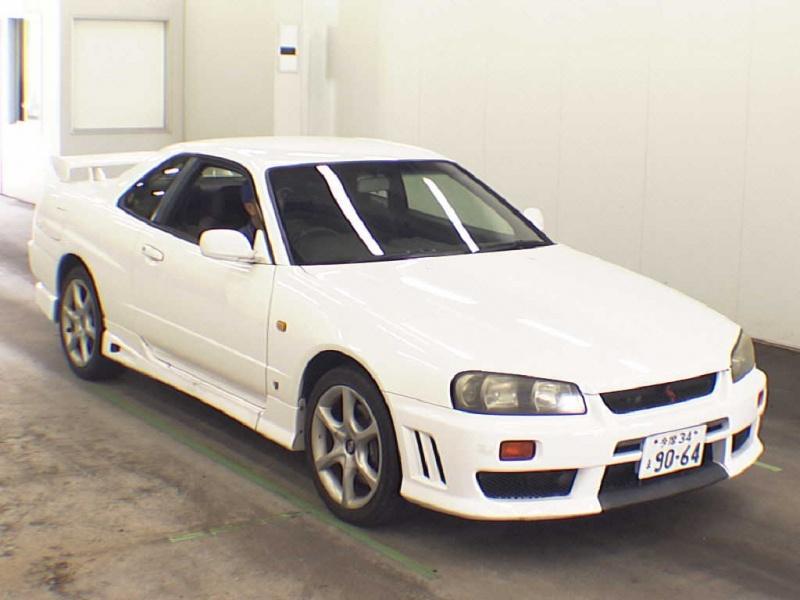 1998 Nissan Skyline R34 Gt T 5 Speed Manual