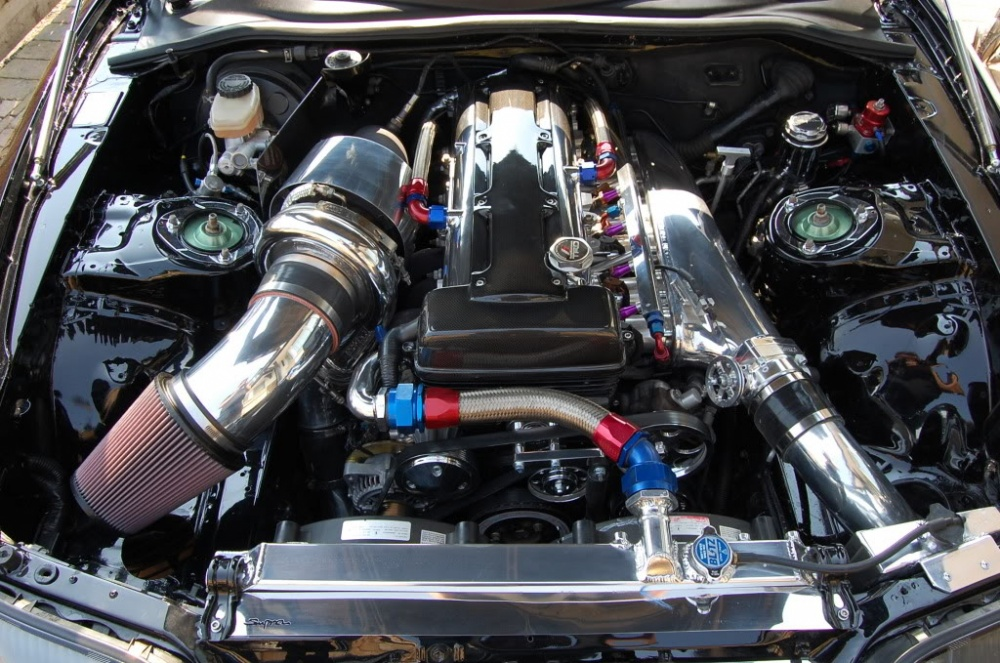 Engine Pic on 300zx Oil Harness