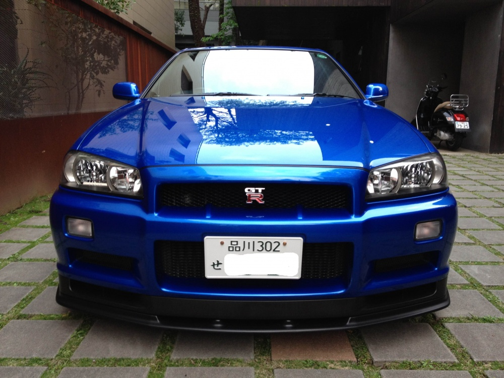 Sports And Imports >> 1999 Nissan Skyline R34 GTR Bayside Blue 6 Speed - JM-Imports