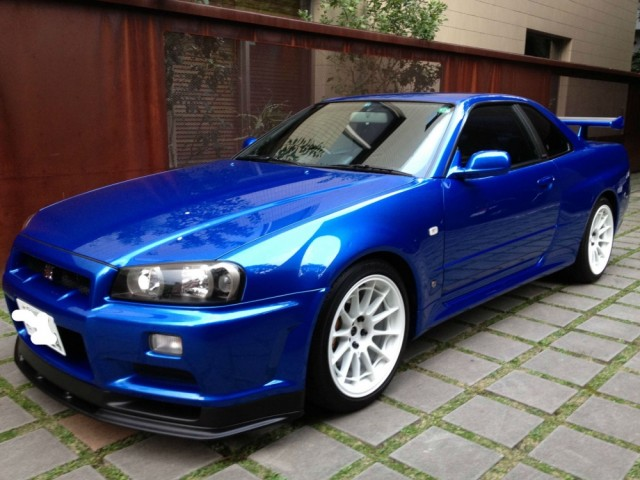 Jm Auto Sales >> 1999 Nissan Skyline R34 GTR Bayside Blue 6 Speed