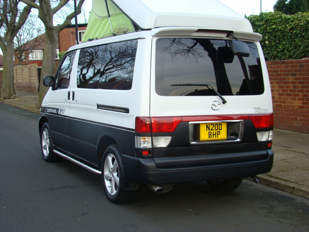 1996 Mazda Bongo Friendee Freetop Campervan Jdm Only