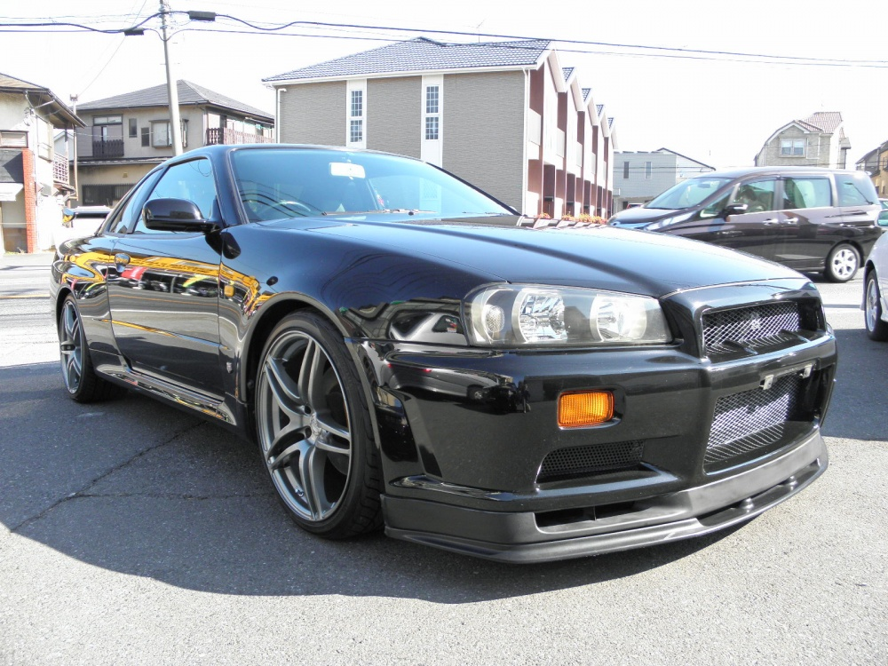 Nissan Skyline Gtr R34 For Sale >> 1999 Nissan Skyline R34 GTR V-Spec 6 Speed - JM-Imports