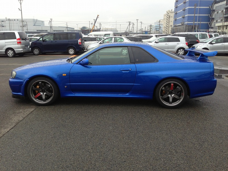 1999 Nissan Skyline R34 Gtr Bayside Blue 6 Speed