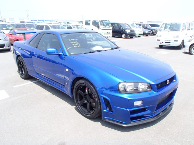 1999 Nissan Skyline R34 Gtr 2 8l Hks Turbos 650ps