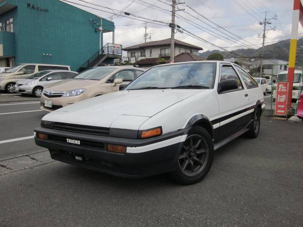 1983 toyota ae86 sr20 trueno sprinter 5 speed manual. Black Bedroom Furniture Sets. Home Design Ideas