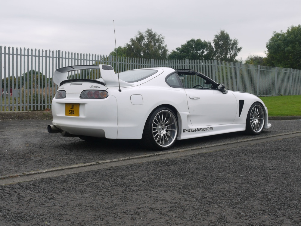 1996 Toyota Supra Gt47 Single Turbo Aerotop 6 Speed