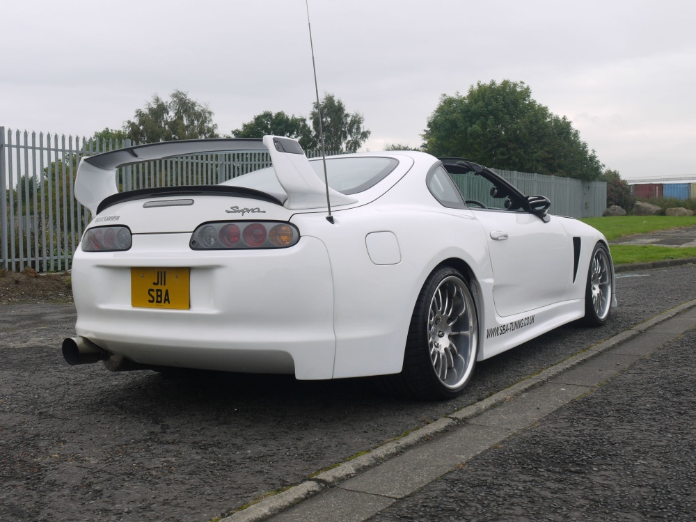 1996 toyota supra gt47 single turbo aerotop 6 speed 1000bhp. Black Bedroom Furniture Sets. Home Design Ideas