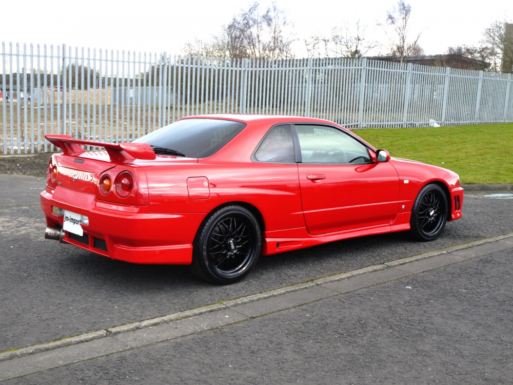 Nissan Gtr R34 For Sale >> 1998 Nissan Skyline R34 GT-T 5 Speed Manual - JM-Imports