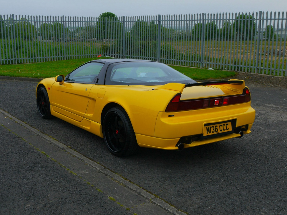 1995 Honda Nsx Uk Spec 5 Speed Pearl Yellow