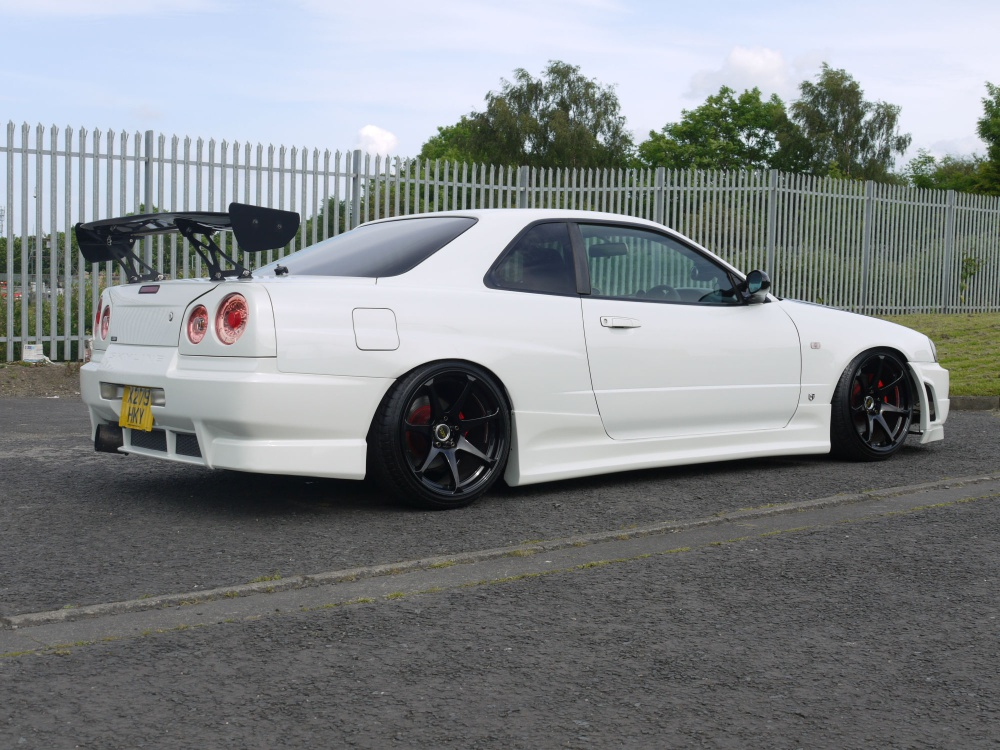 2000 Nissan Skyline R34 Gt Turbo Drift Style R34 Looks