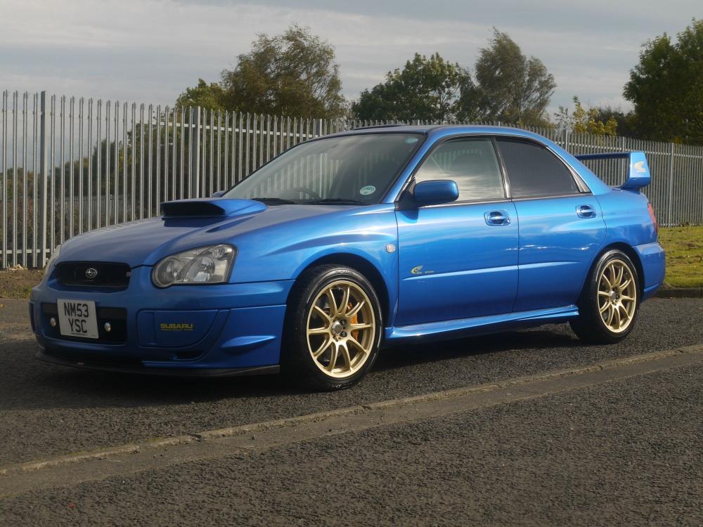 2004 Subaru Wrx Sti V Ltd Petter Solberg 325 Jm Imports