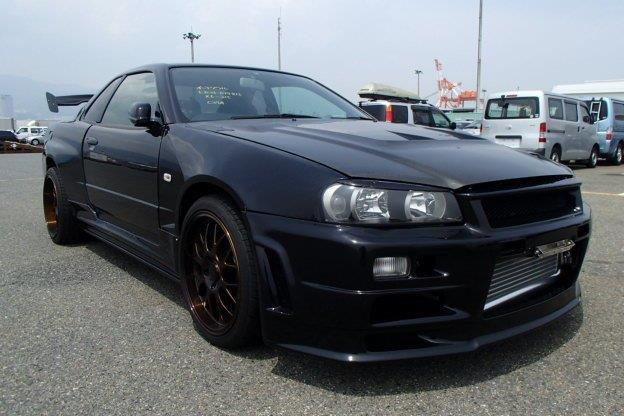 1998 Nissan Skyline R34 GTT GTR Styling 280PS