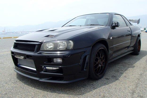 Nissan Skyline R34 For Sale >> 1998 Nissan Skyline R34 GT-T GTR Styling 280PS - JM-Imports