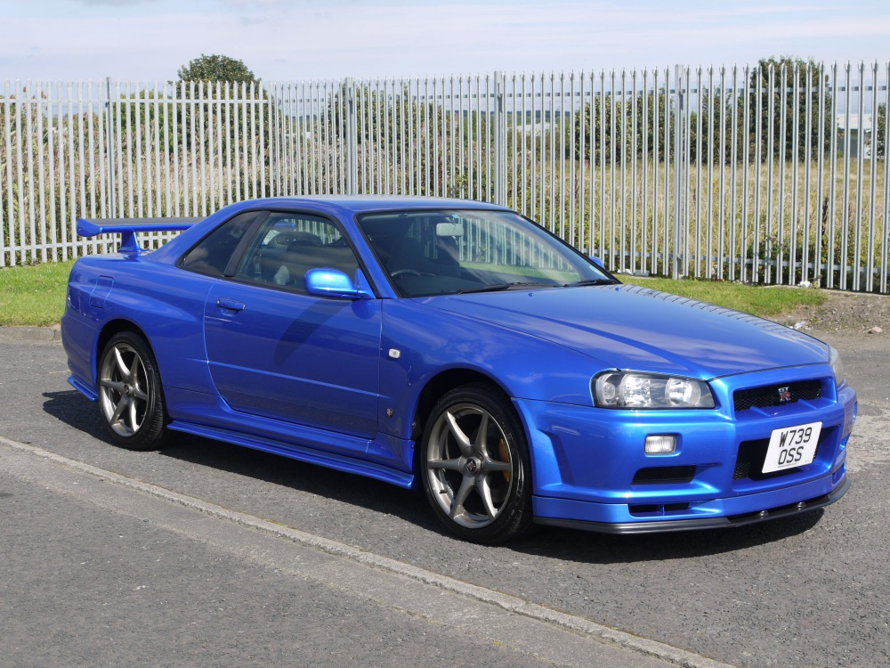 2000 Nissan Skyline R34 Gtr 6 Speed Manual