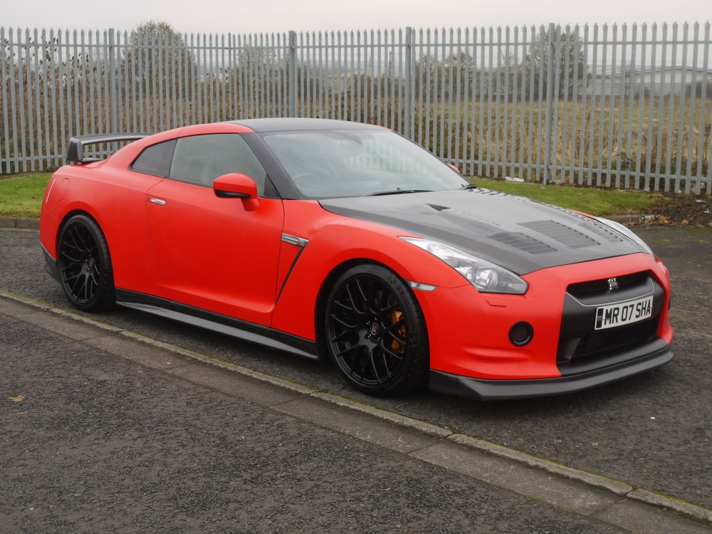 Red Window Tint >> 2009 Nissan R35 GTR Satin Red JM Forged Engine - JM-Imports