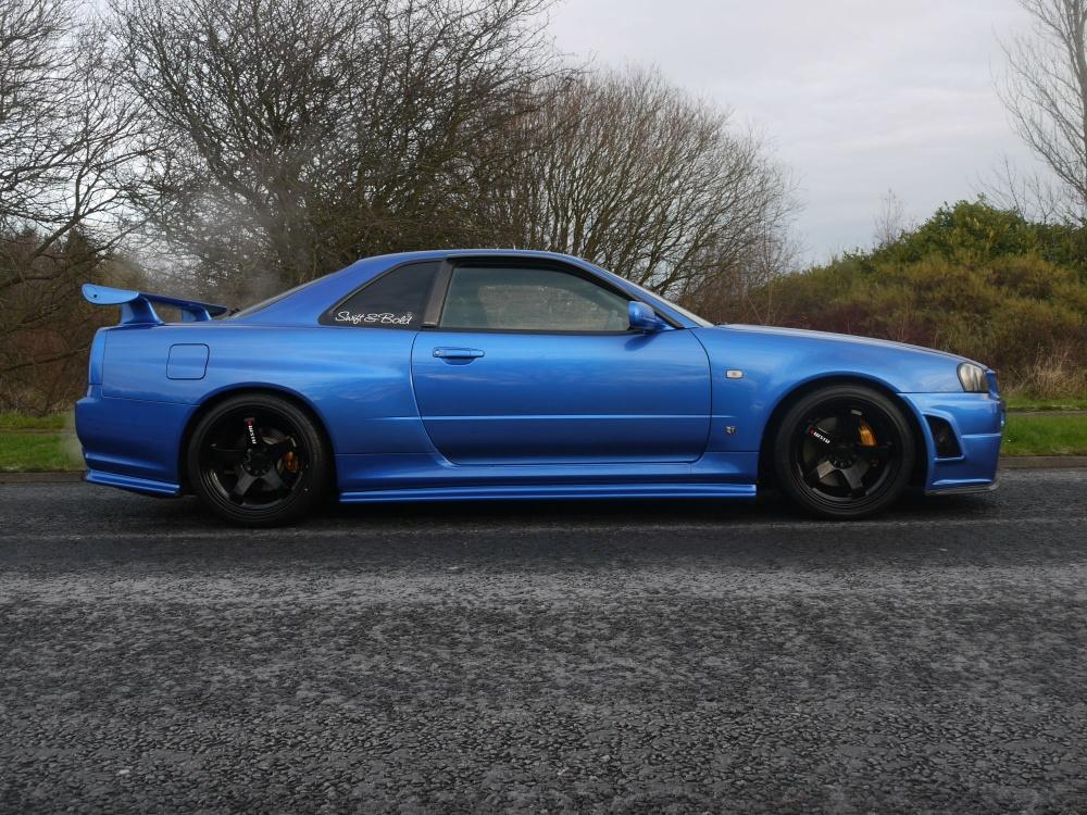 1999 Nissan Skyline R34 GTR V-Spec 433 Bhp 6 Speed - http ...