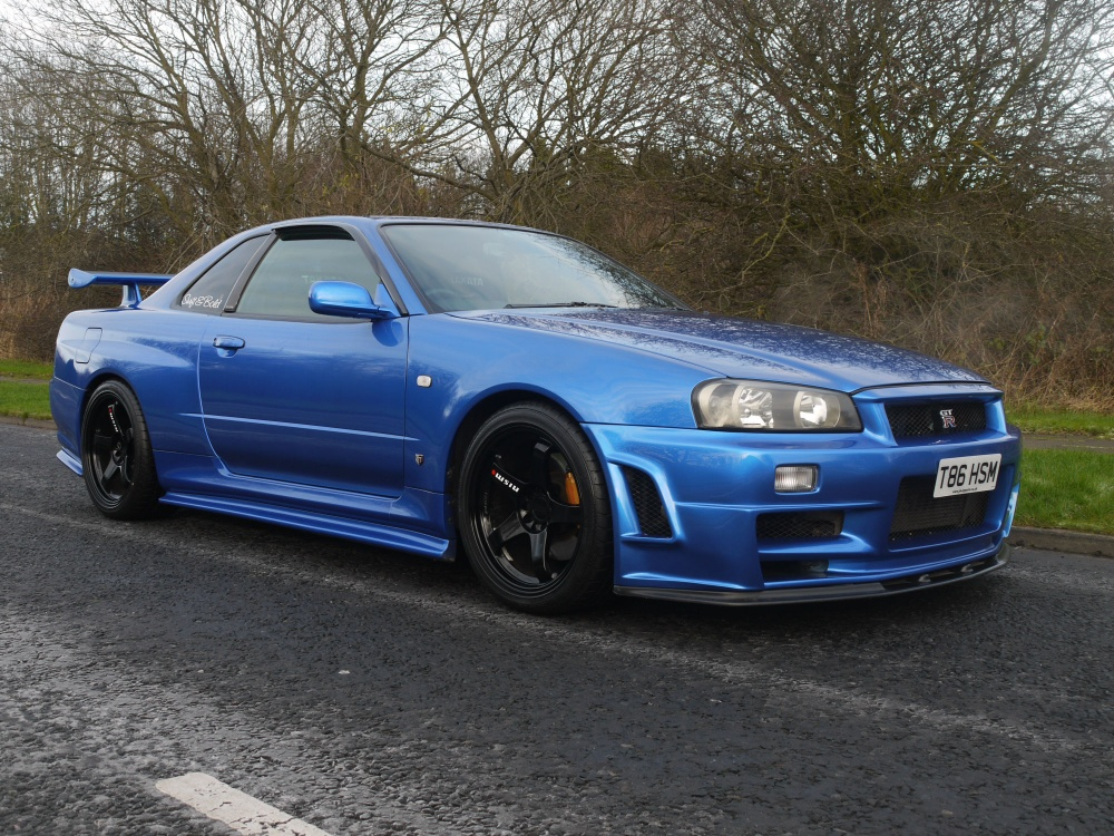 1999 nissan skyline r34 gtr v spec 433 bhp 6 speed. Black Bedroom Furniture Sets. Home Design Ideas