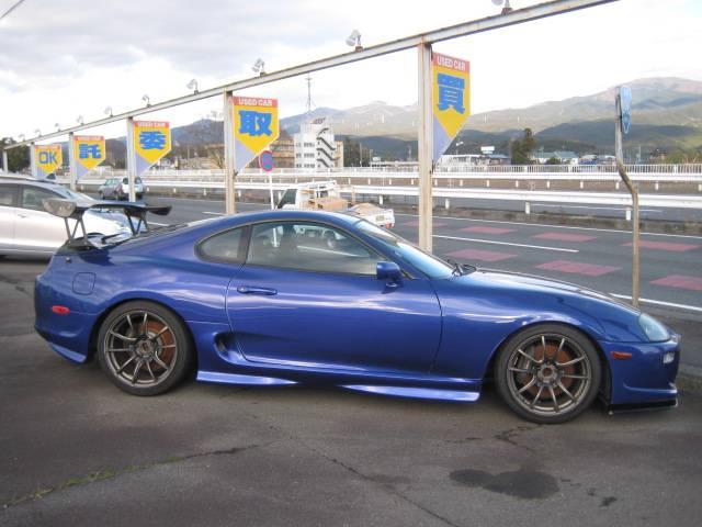 2001 Toyota Supra Rz Hks T51r 650ps 6 Speed Manual