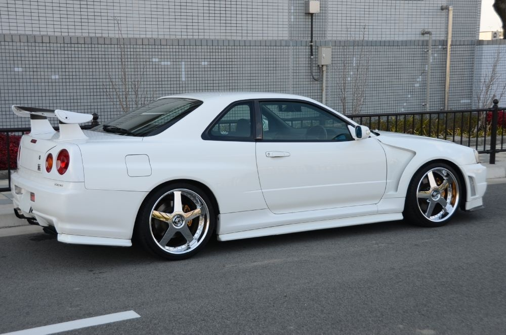 1999 Nissan Skyline R34 GTR V-Spec 6 Speed Manual - http ...