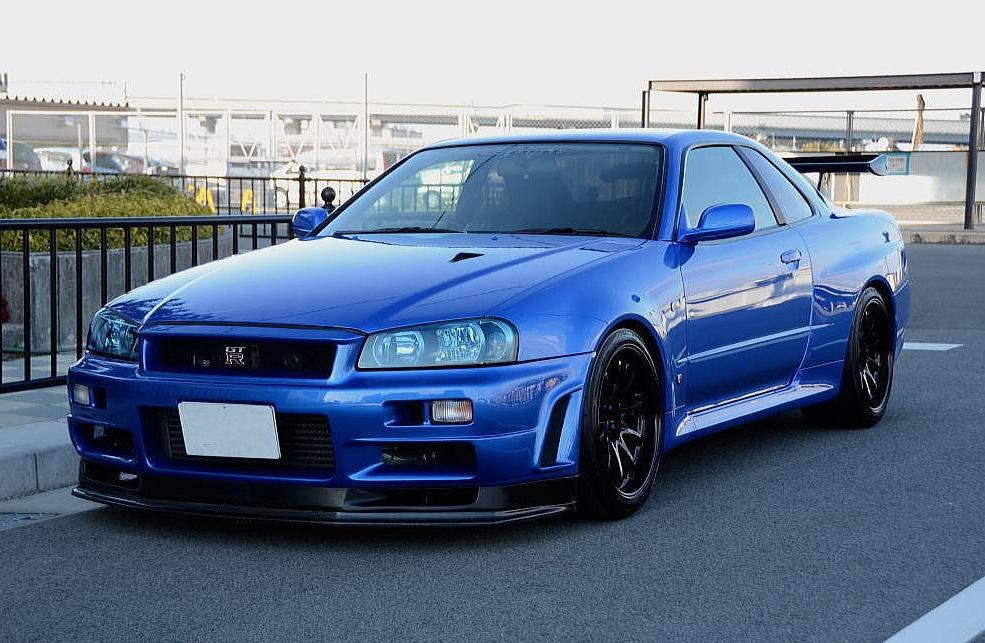 Nissan Skyline Gtr For Sale >> 2001 Nissan Skyline R34 GTR V-Spec II Esprit 721PS - JM ...