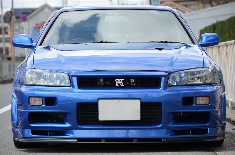 2001 Nissan Skyline R34 GTR V-spec II 6 Speed Manual ...