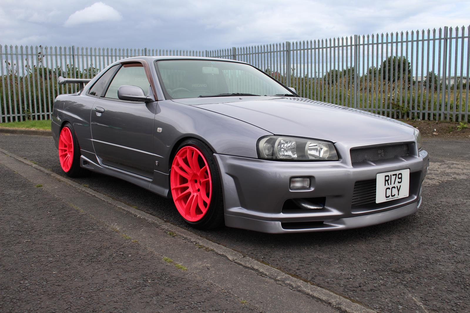 1998 nissan skyline r34 gt t 400ps gtr front. Black Bedroom Furniture Sets. Home Design Ideas