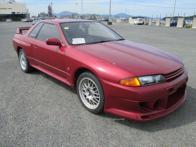 1994 Nissan Skyline R32 Gtr V Spec Ii Rare Red Jm Imports