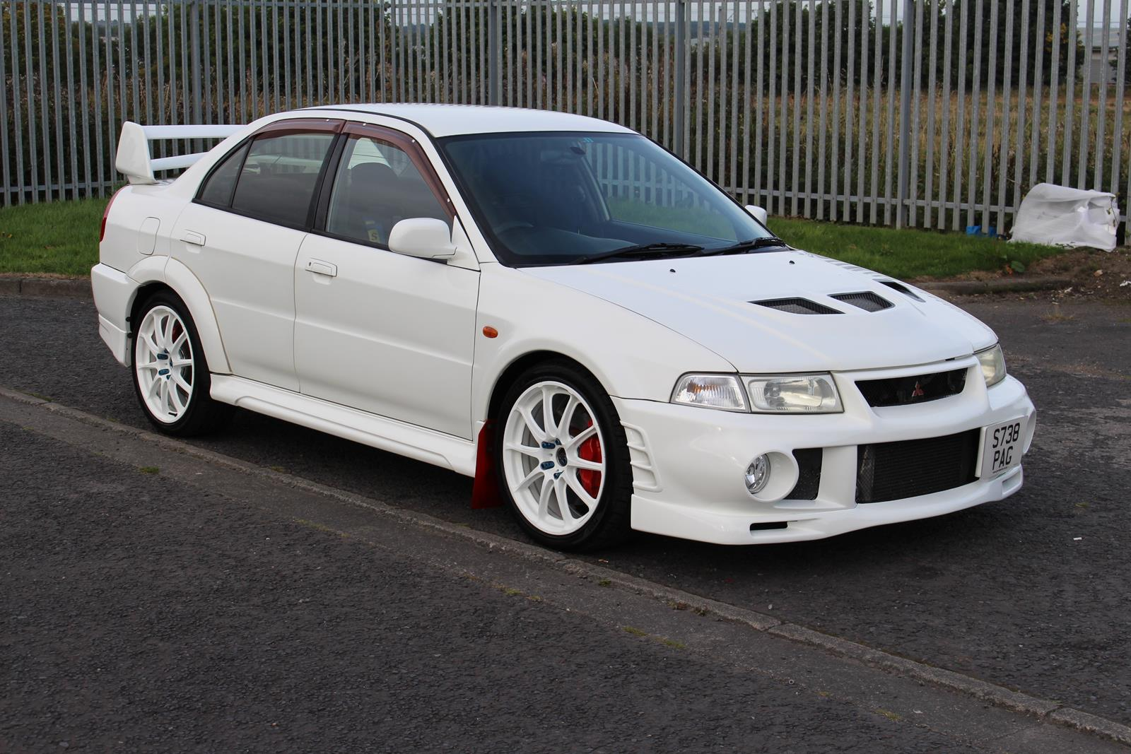 1999 Mitsubishi Lancer Evo 6 Manual 5 Speed
