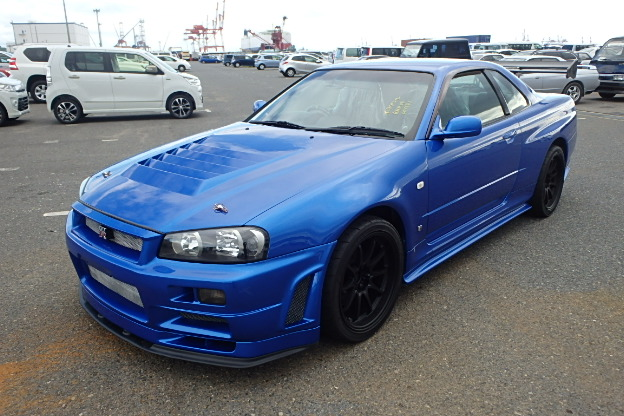 1999 nissan bnr34 skyline r34 gtr for sale hollywood autos post. Black Bedroom Furniture Sets. Home Design Ideas
