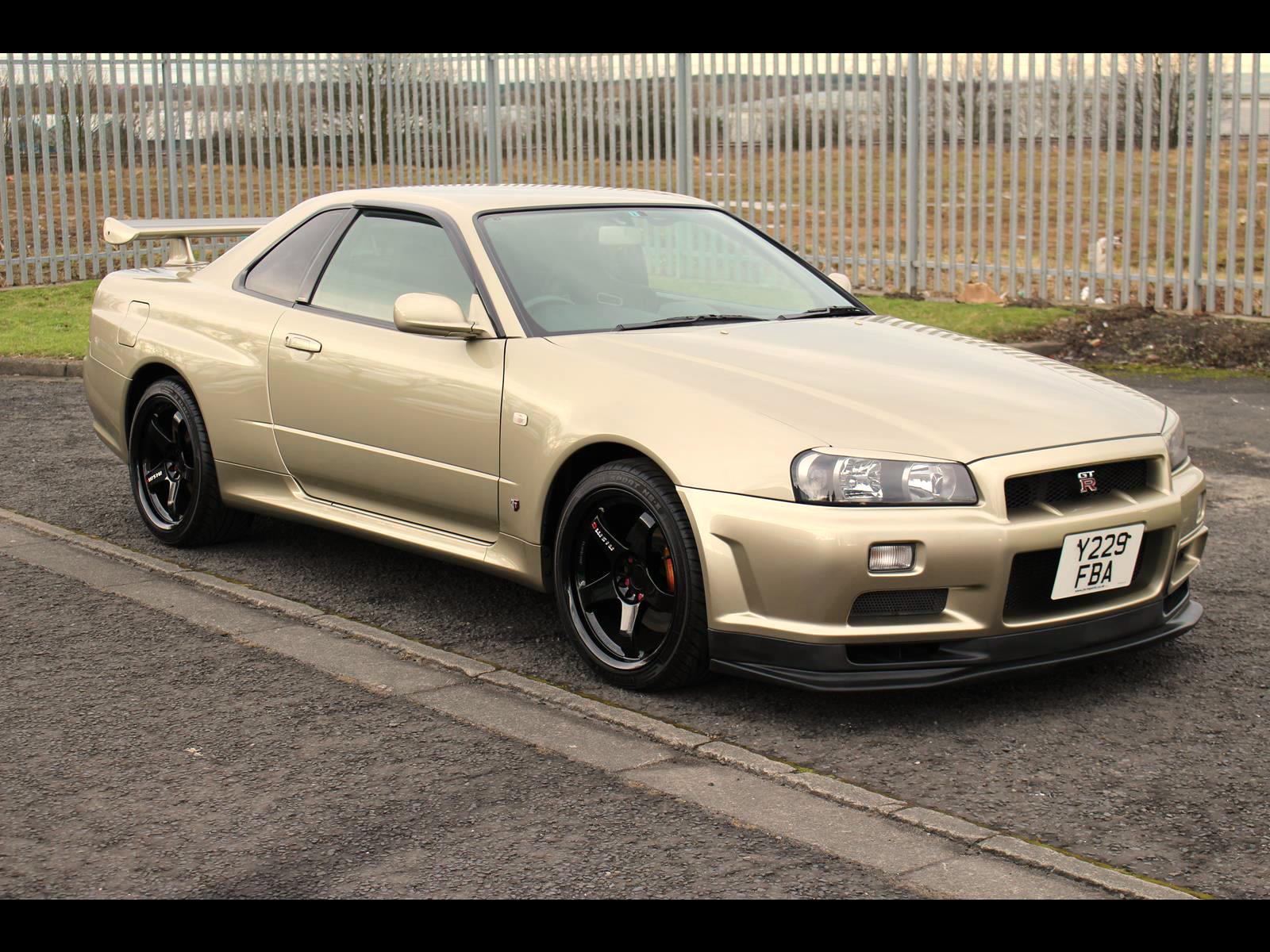 2001 Nissan Skyline R34 Gtr M Spec 1 Of 228 Produced