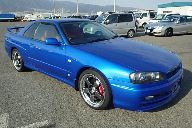 2000 Nissan Skyline R34 Gt T Automatic Low Km