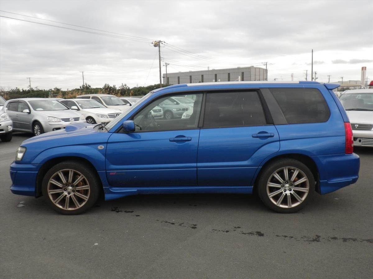 2004 Subaru Forester STi SG9 6 Speed Manual