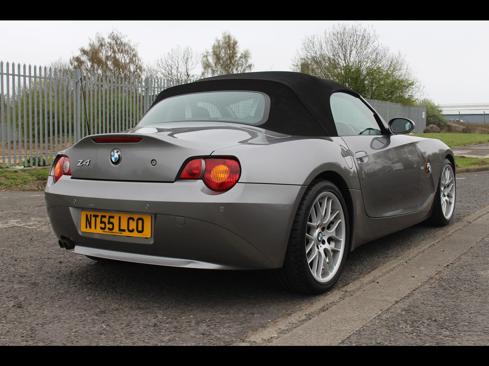 2005 Bmw Z4 Roadster Soft Top 2 5i