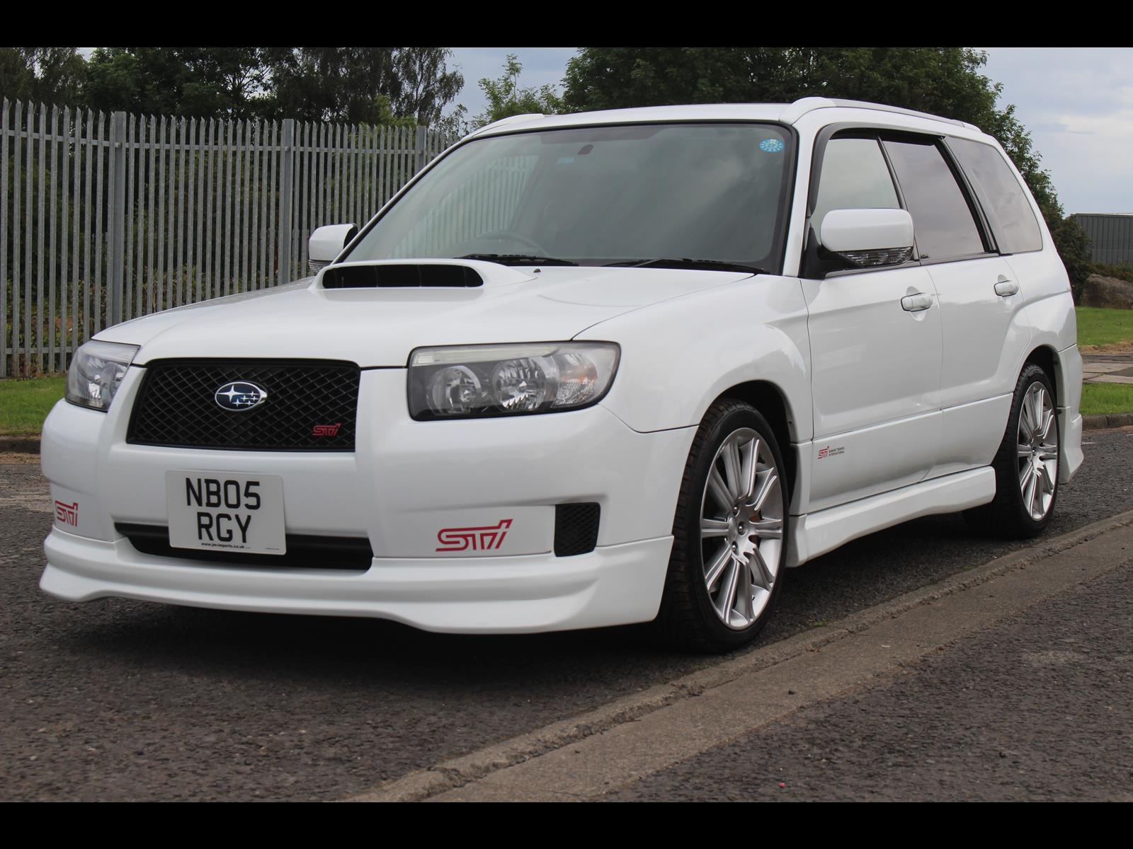 Sti For Sale >> 2005 Subaru Forester STi SG9 6 Speed Manual - JM-Imports