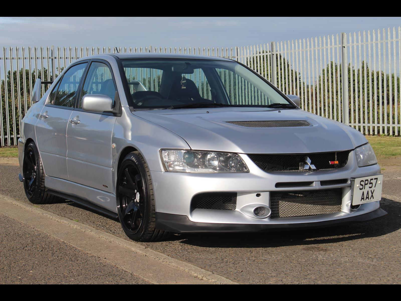 2007 mitsubishi lancer evo 9 fq340 uk forged engine 500 bhp 6 speed manual. Black Bedroom Furniture Sets. Home Design Ideas