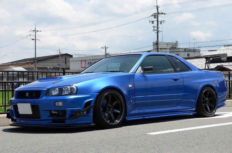 Skyline Auto Sales >> 1999 Nissan Skyline R34 GTR V-Spec 2.8 6 Sped Manual 826PS