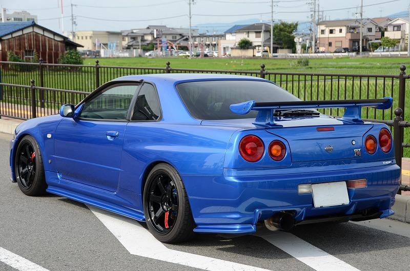1999 Nissan Skyline R34 Gtr Vspec 2 8 600ps