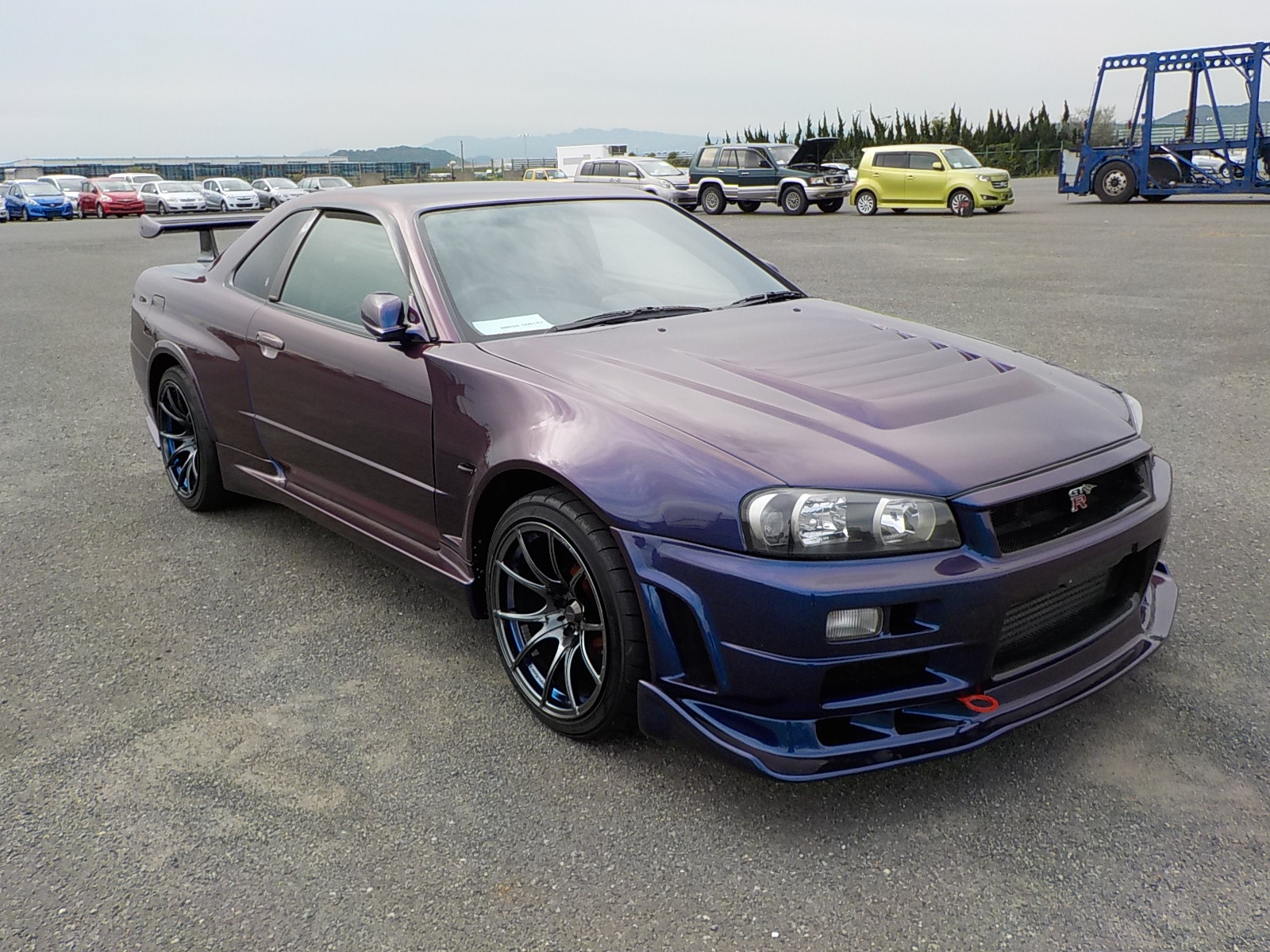 1999 nissan skyline r34 gtr v spec 600ps. Black Bedroom Furniture Sets. Home Design Ideas