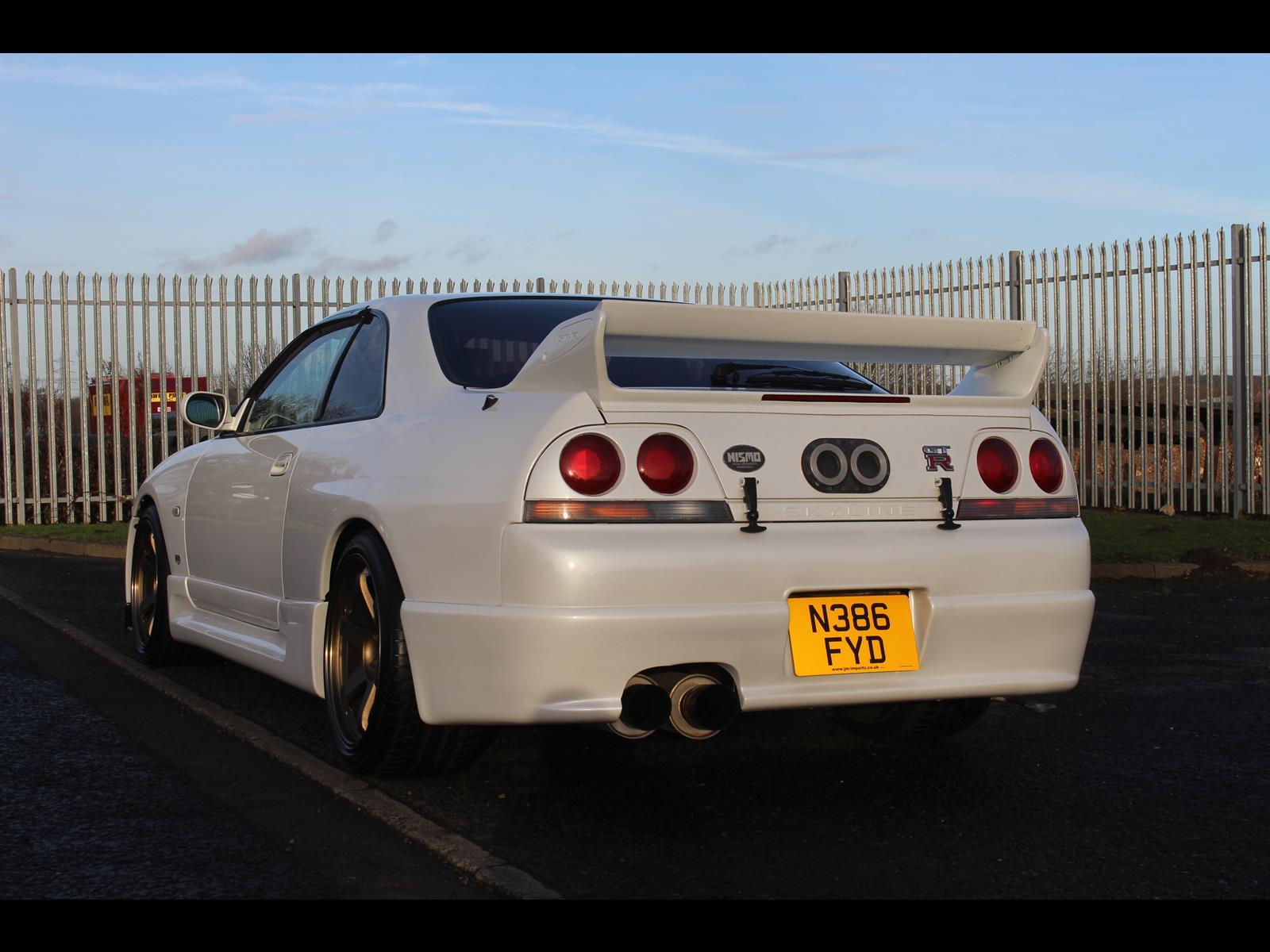 1995 Nissan Skyline R33 GTR 5 Speed Manual Nismo 400R Kit ...